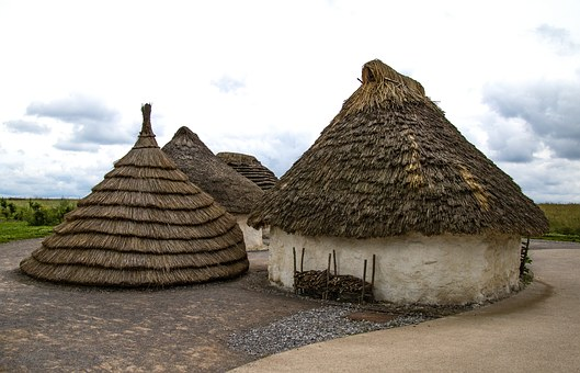 Village, Neolithic, Ancient, Prehistoric, Old