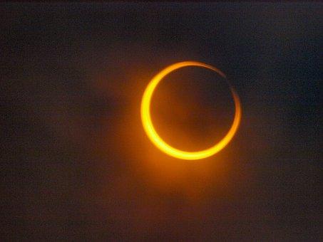 Annular, Sun, Celestial Show, Astronomical Events