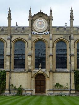 Oxford, College, England, Building, Architecture