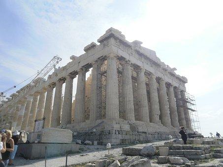 Parthenon, Athens, Greece, Architecture, Temple