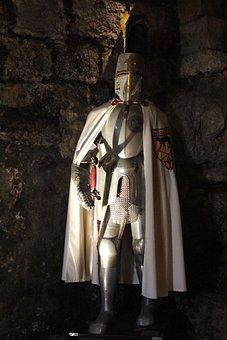 Knight, Armor, Middle Ages, Castle, Burg Katzenstein