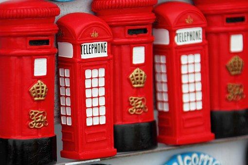Booth, Box, Call, Collection, England, English, London