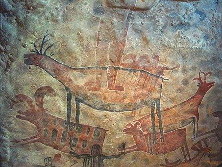 Cave Paintig, Prehistoric, Rupestral, Historic, Ancient