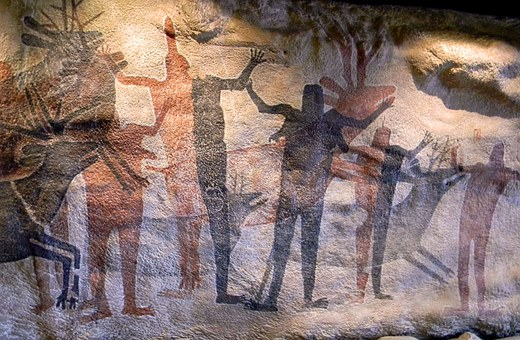 Cave Painting, Prehistoric, Rupestral, Historic