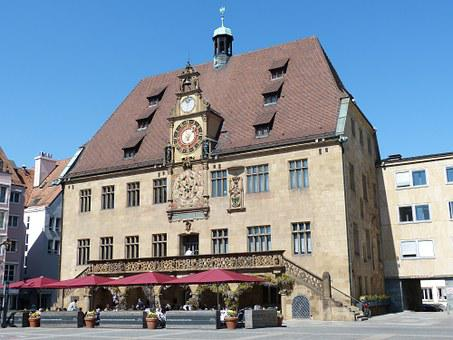 Heilbronn, City, Historically, Old Town, Town Hall