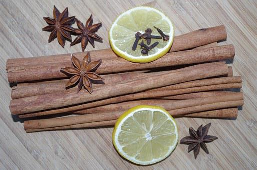 Star Anise, Cinnamon, Lemon, Cloves, Pepper, Baking