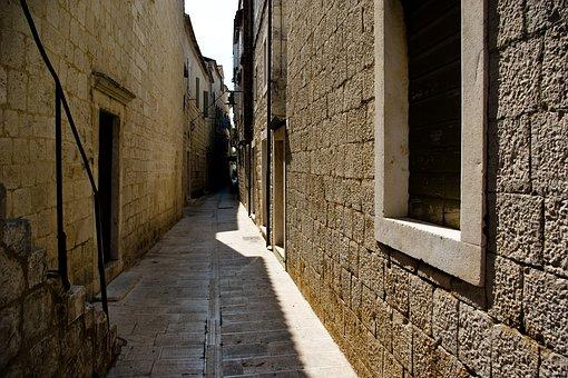 Croatia, Trogir, Old, Town, Dalmatia, City