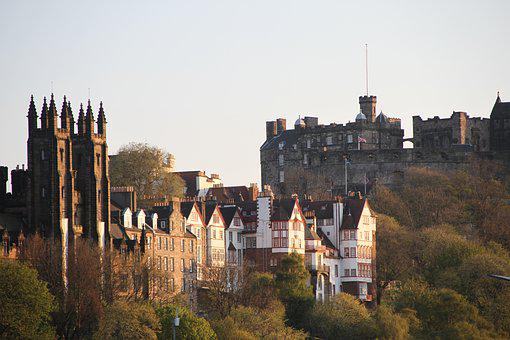 Edinburgh, Edinburgh Castle, Scotland, Travel, Scottish