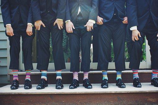 Funny, Socks, Colorful, Pants, Fashion, Clothing