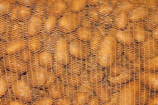 Potatoes, Potato Sack, Food, Potato