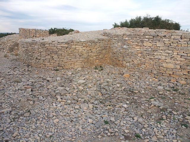 Fortification, Ambrussum, France, Stones, Ruins, Old