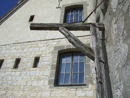 Gallows, Wood, Burg Katzenstein, Härtsfeld