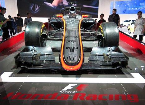 Honda, Formula 1, Racing Car, Car Show, Shanghai 2015