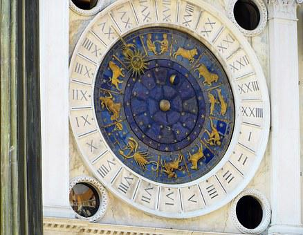 Italy, Venice, Place, Clock, Astronomical, Monument