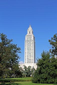 Capitol, Building, Louisiana, Baton Rouge, Government
