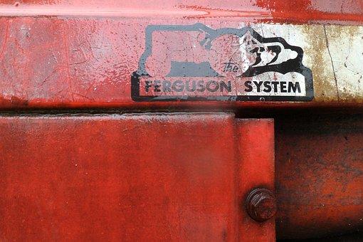 Tractor, Massey Ferguson, Cap Ferret