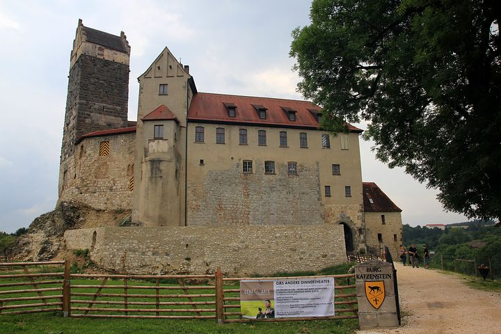 Burg Katzenstein, Castle, Middle Ages, Coat Of Arms