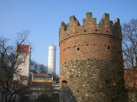 Ravensburg, Downtown, Middle Ages, Defensive Tower