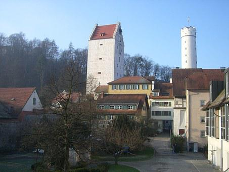 Flour Sack Tower, Ravensburg, Downtown, Middle Ages