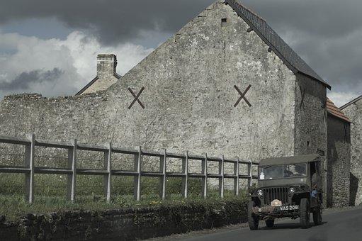 War, Military, House, Second World War, Normandy
