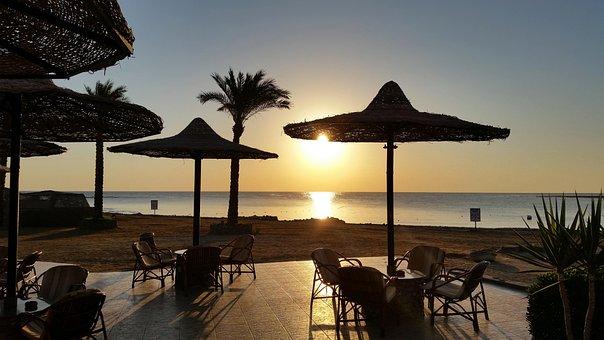 Sunrise, Sea, Sunrise On The Sea, Morgenstimmung