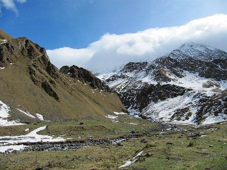 Mountains, The Caucasus, Elbrus, Northern Caucasus