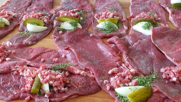 Beef Roulades, Cook, Meat, Recipe, Beef, Operation