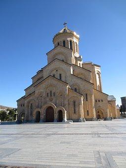 Tbilisi, Sameba, Sameba Cathederal, Orthodox, Georgia