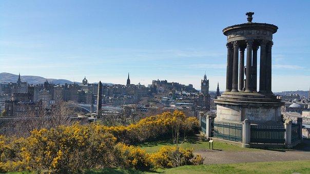 Edinburgh, Scotland, Calton Hill