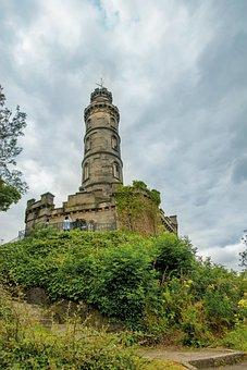 The Nelson Monument, Edinburgh, Nelson, Scotland