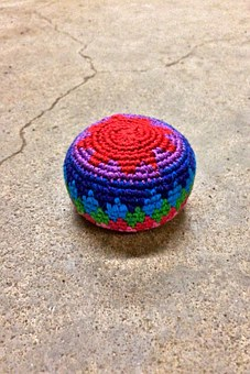 Hackey Sack, Footbag, Sport, Game, Colorful, Hack, Sack