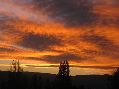 Tbilisi, Sunset, Evening, View, Summer, Landscape