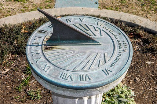 Sundial, Clock, Sun, Ancient, Sun-dial, Time, Old