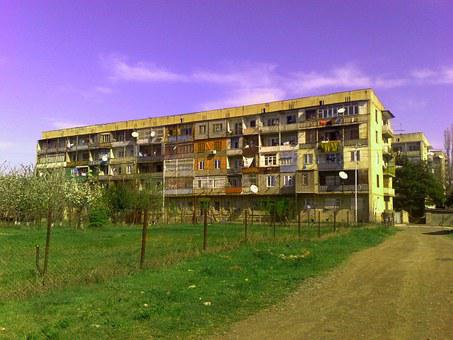 Suburbs, Georgia, Tbilisi, House, Flat, Construction