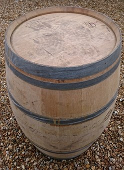 Teffont French Oak Barrel, White Oak, Wine Barrels