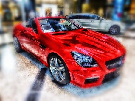 Mercedes Benz, Slk 55, Car, Auto, Automobile, Travel