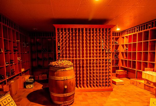 Alcohol, Barrel, Basement, Beverage, Big, Cask, Cellar