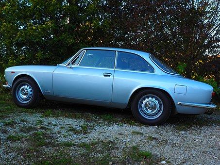 Auto, Oldtimer, Alfa Romeo, Gt 1300 Junior, Automotive
