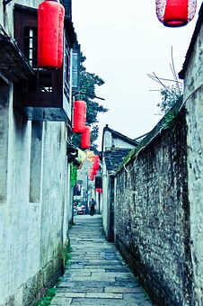 Shaoxing, The Ancient Town, House, Alley, Quaint