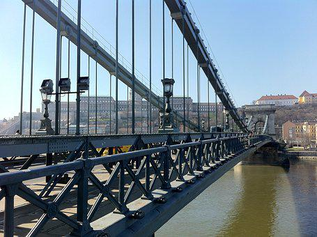 Hungary, Budapest, Architecture, Bridge, City