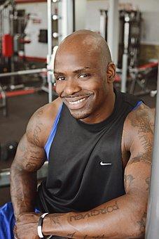 Fitness, Guy, Black, Exercise, Fitness Training