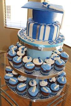 Graduation Cake, Cake, Graduation Party, Celebration