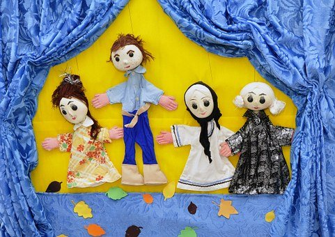 Puppets, Child, Toy, Doll, Hand, Childhood, Happy, Play