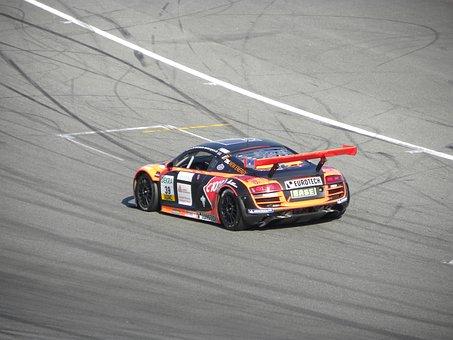 Gt Masters, Hockenheim Germany, Audi R8 Lms