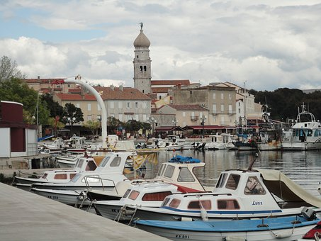Croatia, Island Of Krk, Port City, Istria