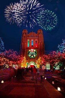 Christmas, Xmas, Lights, Christmas Lights, Decoration