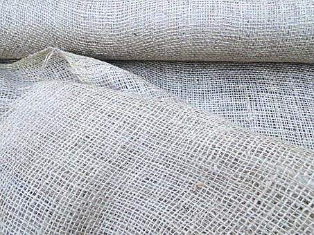 Burlap, Fabric, Cloth, Material, Texture, Roll, Rough