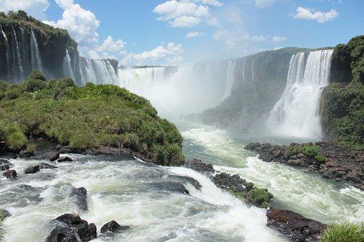 Waterfall, Mouth Iguaçu, Brazil