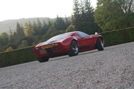 Ford Gt40, Racing Car, Motor Racing, Historic, Classic