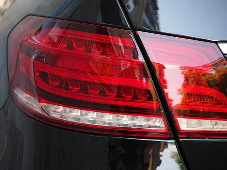 Auto, Back Light, Stop Lamp, Red, Led, Vehicle